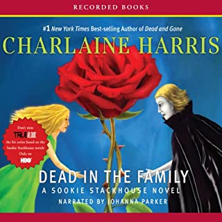 Dead In the Family audiobook cover art