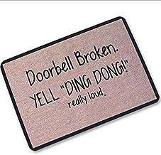 Funny Soft Non-slip Indoor Outdoor Hello Doormat Inside Outside Front Door Mat Carpet Floor Rug words Printed 40 X 60 cm