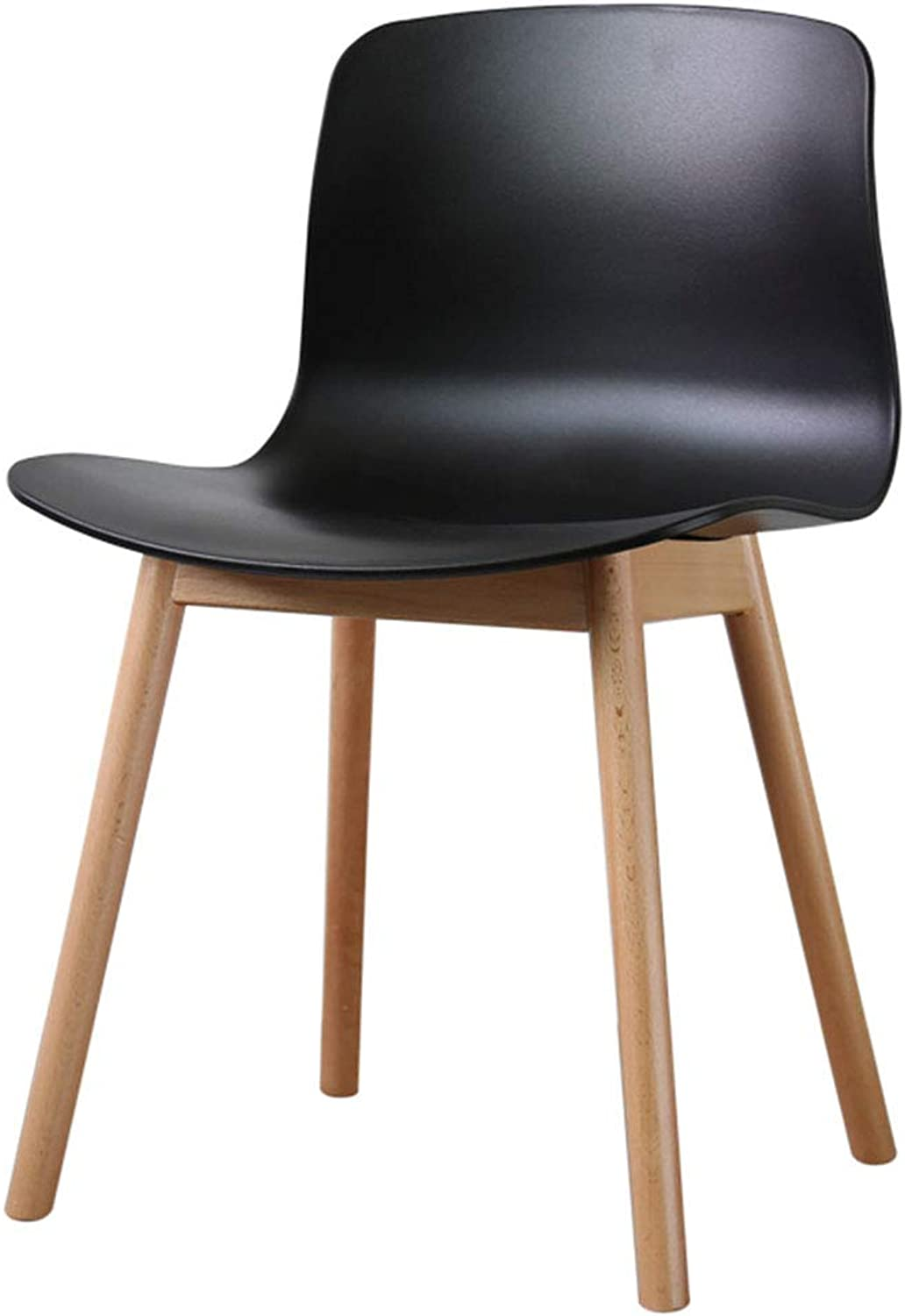 ad2ad401367b CAIJUN Chair Multifunction Household PP Plastic Seat Solid Wood ...
