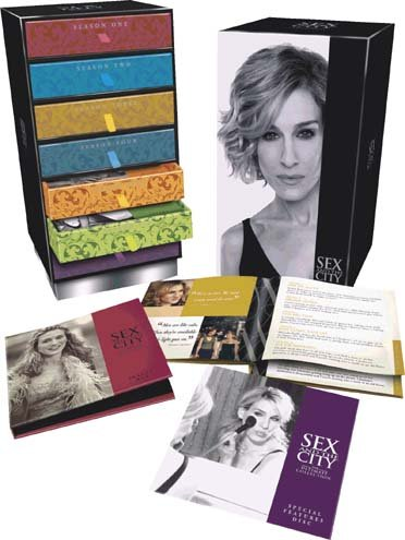 Intégrale Sex and the city, saison 1 à 6 - Edition collector 19 DVD Boite à bijoux