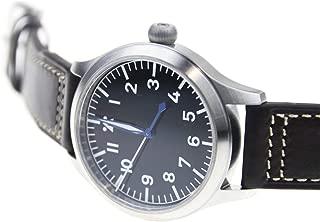 Japan NH35 Mens Wristwatch German Big Pilot Sapphire 300M B-Uhr WW2 Flieger Thin
