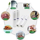 Zoom IMG-2 kitchenboss sacchetti sottovuoto per alimenti