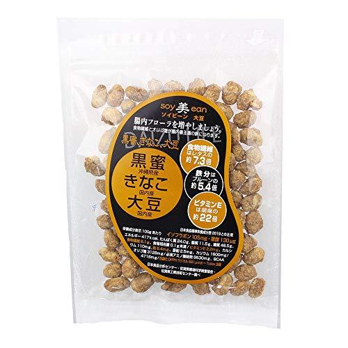 soy美ean 黒蜜 きな粉 大豆 50g×6P 宮本邦製菓