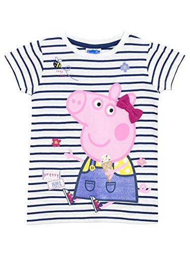 Peppa Pig - Camiseta para niñas 4-5 Años