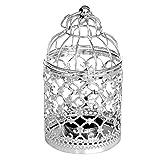 Lustres Plafonniers Suspensions Lampe Suspension Métal creux Flower Design Lanterne cage à oiseaux Forme Bougeoir lampion Berceau Décoration d'intérieur Chambre Pendante Lampe Lustre Plafonniers