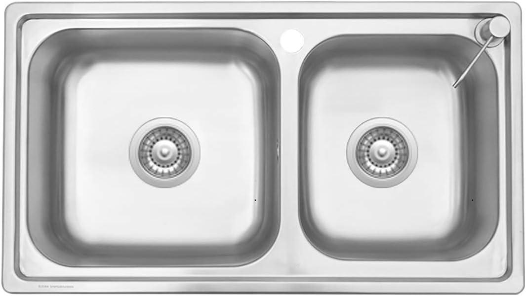 YonCog 76x43CM Spasm price 304 Ranking TOP8 Stainless Steel Basin Sink Undermount Kitchen