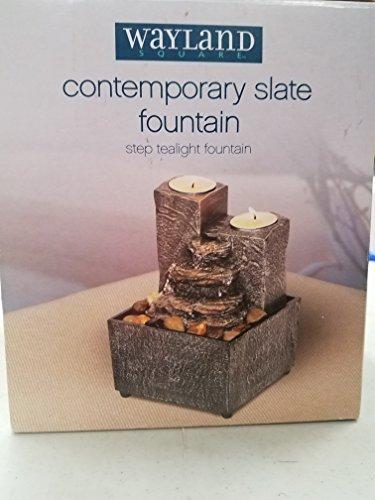 WAYLAND SQUARE Contemporary Slate Fountain