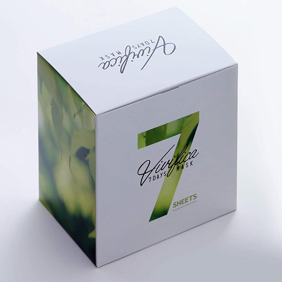リフト禁止契約したVivifica 7DAYS MASK ROUGH SKIN PREVENTION (28枚入り)