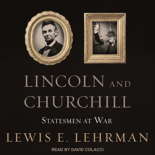 Lincoln and Churchill audiobook cover art