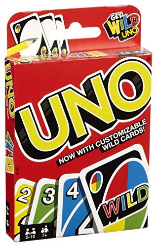 Mattel Uno Playing Card Game 4