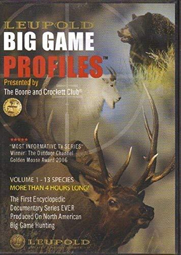 Leupold Big Game Profiles Dvd Set 63549