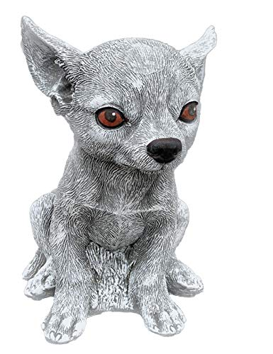 Stone and Style Steinfigur Chihuahua frostfest wetterfest