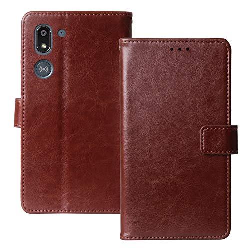 Lankashi Premium Retro Business Flip Book Stand Brieftasche Leder Tasche Schütz Hülle Handy Handy Hülle TPU Silikon Für Doro 8050 5.7