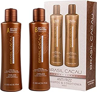 Brasil Cacau Anti Frizz Shampoo and Conditioner Duo 2 x 300ml