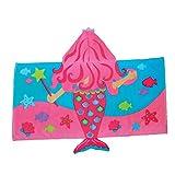 Stephen Joseph Hooded Towel, Mermaid...