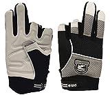 Gatorback 634 Fingerless Goat Skin Leather Professional Work Gloves. Made for Electricians, Framers, Carpenters,...