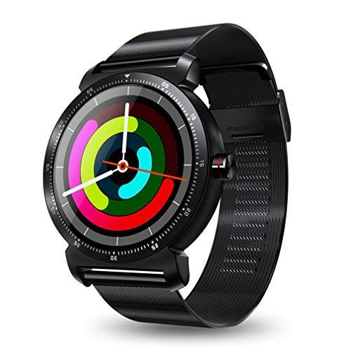 DWEMM Smartwatch, Multifunktions-Sportuhren Bluetooth Elektronische Uhr, 3D Geschnitzter Radian-Touchscreen, wasserdichte Uhr Für Android Und IOS