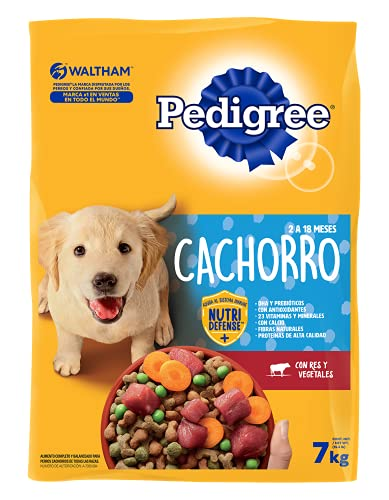 PEDIGREE alimento para perros cachorros 7kg