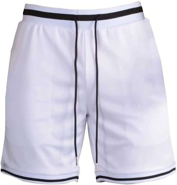 Segindy Men's Sports Shorts Summer Casual Comfortable Drawstring Elasticated Waist