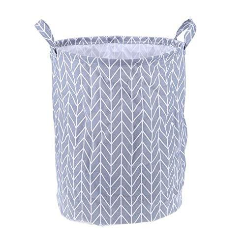 WUJIANCHAO Foldable Laundry Basket Clothes Storage Bag Dirty Laundry Basket Kids Toys Holder Bucket Organizer Home Sundries Storage Barrel