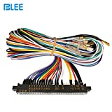 BLEE 1 Unit Arcade Jamma 28/56 Pin Interface Cabinet Wire Wiring Harness Loom Multicade Arcade PCB Cable for Arcade Machine Video Consoles Jamma 60-in-1 Board & Pandora Box 4 5 6