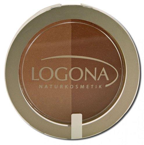 LOGONA Naturkosmetik Blush Duo No. 03 Beige&Terracotta, Rouge, Natural Make-up, zaubert Kontur und...