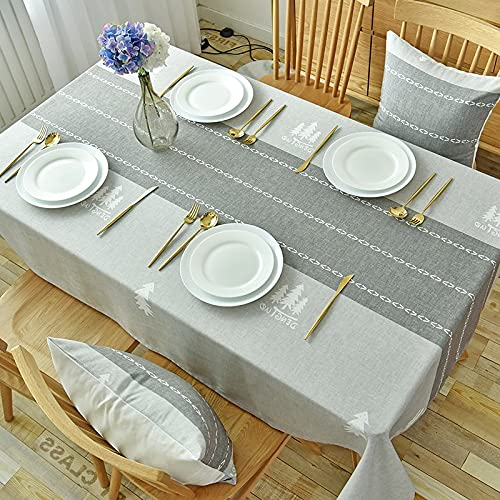 XXDD Mantel Rectangular Impermeable y Resistente al Aceite, Mantel desechable, Mesa de Comedor para el hogar, Mantel para Mesa de Centro, A8 150x210cm