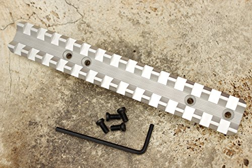 Kidd Scope Base for a 10/22 or Ruger 10/22-Silver Low