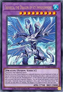 Yu-Gi-Oh! - Trishula, The Dragon of ICY Imprisonment - JUMP-EN088 - Ultra Rare - Limited Edition - Shonen Jump Magazine Promos