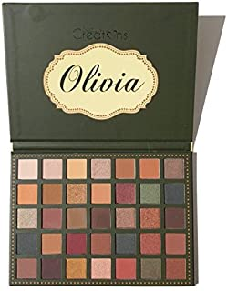 (3 Pack) BEAUTY CREATIONS 35 Color Eyeshadow Palette - Olivia (並行輸入品)