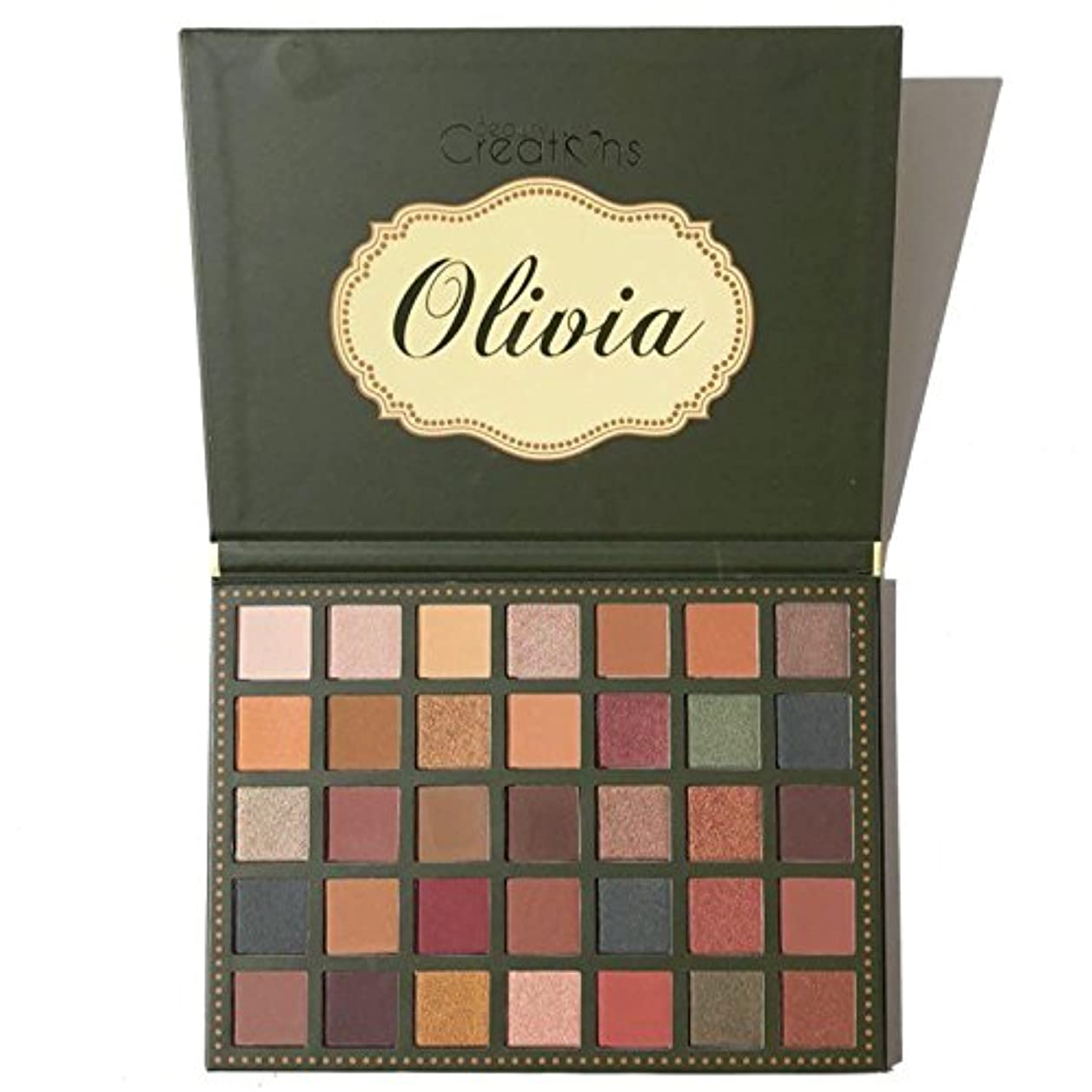 請求読む用心する(6 Pack) BEAUTY CREATIONS 35 Color Eyeshadow Palette - Olivia (並行輸入品)