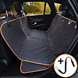 iBuddy Dog Car Hammock Waterproof Dog Seat Cover Anti-Scratch Nonslip Pet Seat Cover Machine Washable Durable, Quilted, Padded Dog Back Seat Cover for Car and SUV
