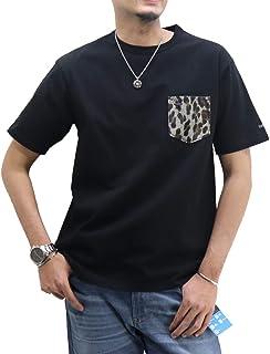 [ショット] MENS HAIRY CALF SKIN POCKET T-SHIRT ONE STAR 3103113 / メンズ 半袖 クルーネック ハラコポケット Tシャツ ワンスター