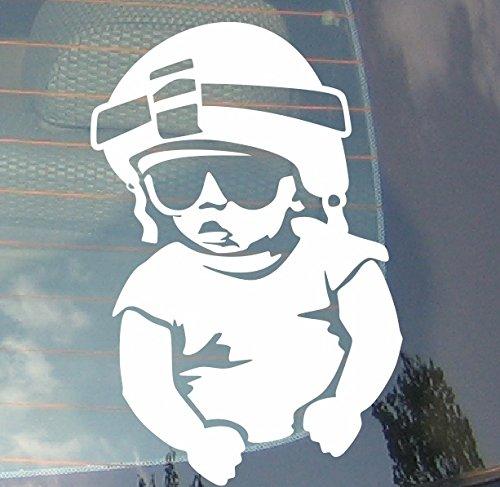 Baby On Board soldat voiture Drift pare-chocs fenêtre Funny en vinyle Van pour ordinateur portable Love Heart Decor Home Live Kids Funny autocollant mural en stickers pour moto