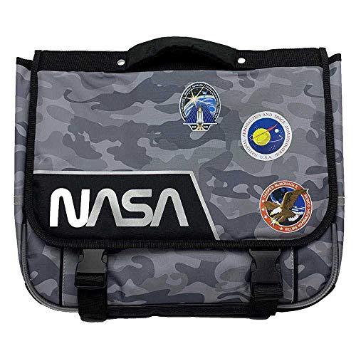 Mochila NASA - 38 cm - Negro