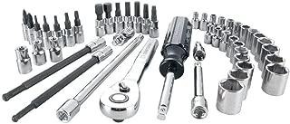 CRAFTSMAN Mechanics Tool Set, SAE / Metric, 1/4-Inch Drive, 48-Piece (CMMT12017)