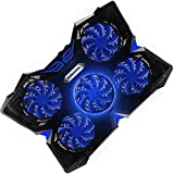 E-PRANCE Cooling Pad Gaming Laptop Cooler - USB Powerful Laptop Cooling Pad