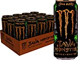 Monster Energy Java Monster Kona Blend, Coffee + Energy Drink, 15 Ounce (Pack of 12)