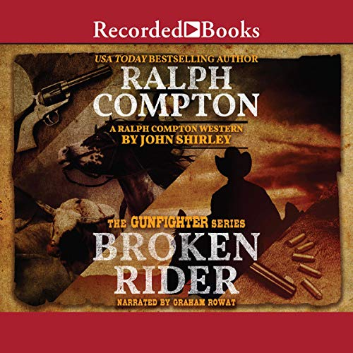 Ralph Compton Broken Rider  By  cover art