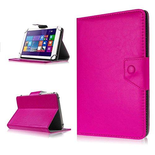 Für ARCHOS 90b Copper Neon Tasche-Schutz-Hülle-Tablet Schutzhülle Case Cover Bag, Farben:Pink