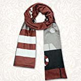 GGOODD Anime Scarf Kantai Collection Amatsukaze Cosplay Costume Accessories Scarf Winter Printed Shawl Neckerchief for Men and Women,Brown