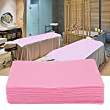 Disposable Non-Woven Bed Sheet, Waterproof and Oil-proof Bed Cover for Beauty Salon SPA Tattoo Massage Table Hotels (03#)
