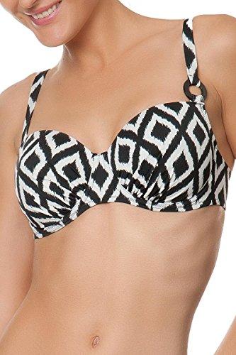 Antigel, Balconette- Bikini- Oberteil gefüttert mit Bügel, La Botswana FBA4088 (85E, Nacre Noir)