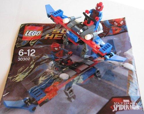 Lego Marvel Super Heroes 30302Spiderman–RAR Rare Neu/New