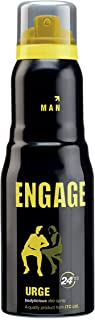 Engage Urge Deodorant For Men,165ml/110g (Weight May Vary)