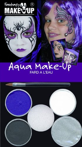 Kreul 37087 - Fantasy Aqua Make Up Picture Pack Zauberhexe / Spinne