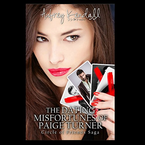 The Dating Misfortunes of Paige Turner audiobook cover art