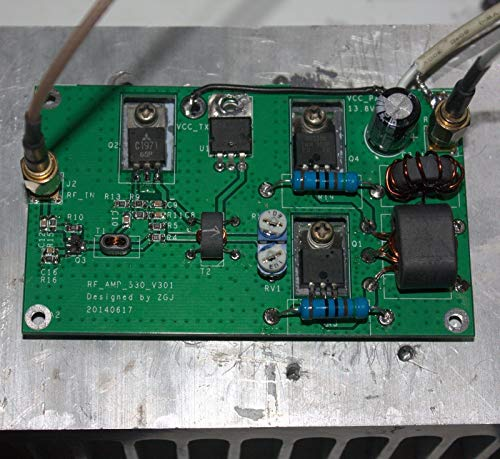 DP-iot DIY Kits 45W SSB Linear Power Amplifier for transceiver HF Radio shortwave Radio HF FM CW HAM