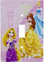Disney Princesses Wall Plate Electric Light Switch Cover W/Screws
