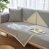 Protector de sofá Fundas de Asiento de sofá de Color sólido...